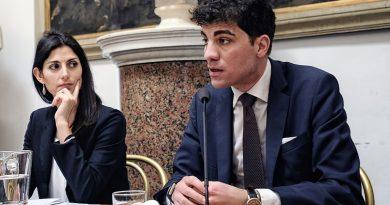 Virginia Raggi e Enrico Stefàno