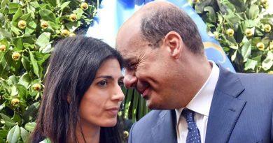 Nicola Zingaretti e Virginia Raggi case occupate