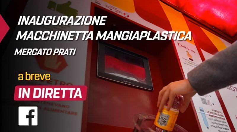 Virginia Raggi inaugura l'ennesima macchinetta mangia plastica