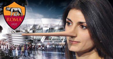Virginia Raggi nuovo stadio della Roma calcio