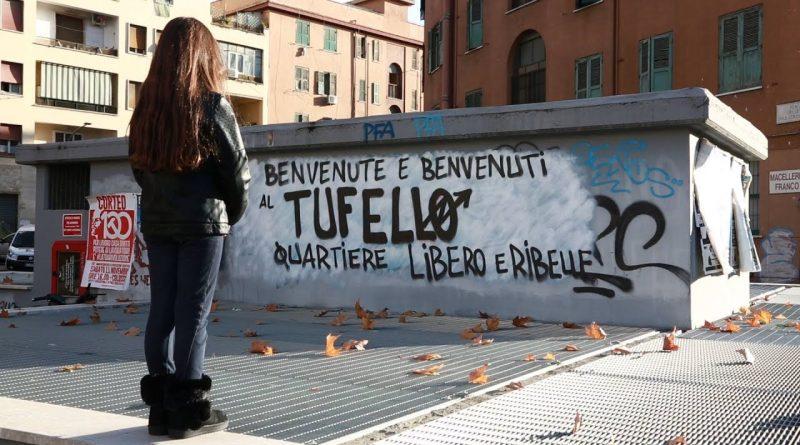 Scritte sui muri, vandali al Tufello