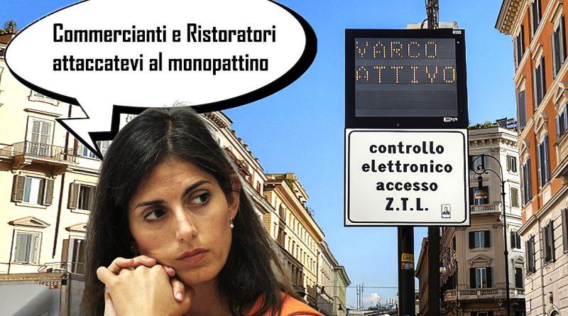 Virginia Raggio attiva la ZTL
