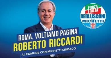 ROBERTO RICCARDI AL COMUNE DI ROMA